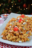 Struffoli neapolitan food Stock Photography