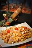 Struffoli neapolitan food Stock Image