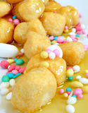 Struffoli Royalty Free Stock Photo