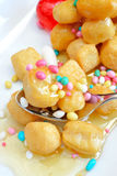 Struffoli Royalty Free Stock Photos
