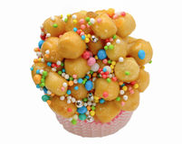 Struffoli,  neapolitan small pastry Stock Photography