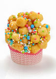 Struffoli,  neapolitan small pastry Royalty Free Stock Photo