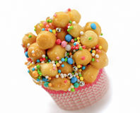 Struffoli,  neapolitan small pastry Stock Photos