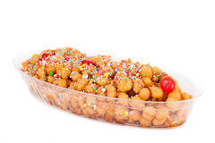 Struffoli - Traditional Italian Dessert Royalty Free Stock Image