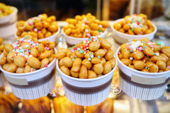 Struffoli, typical Neapolitan pastry. Royalty Free Stock Photography