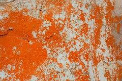 Strugać farbę na ściennej bezszwowej teksturze Wzór nieociosany błękitny grunge materiał obraz royalty free