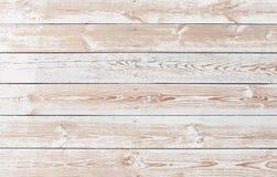 Strugać farbę na starej drewnianej podłoga Zdjęcia Stock