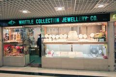 Struga inkasowego jewellery co sklep w Hong kong Obrazy Royalty Free