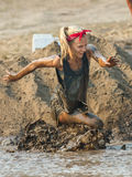 Struggling in the mud Stock Photo