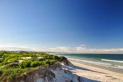 Struisbaai strand - västra udde, Sydafrika Fotografering för Bildbyråer