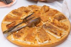 Strukle - aperitivo croato famoso immagine stock