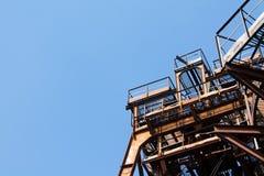 Struktur, alt, industriell, Industrie, Bau, Metall, Rost, stockfotografie