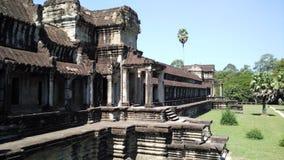 Struktur av den Kambodja templet Royaltyfria Bilder