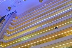 Struktur av modern kommersiell byggnad arkivfoto