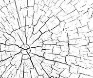 Struktur av sprickor av trä stock illustrationer