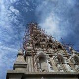 Struktur av templet Royaltyfria Bilder