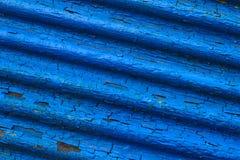 Struktur der alten blauen Blendenverschlüsse Lizenzfreie Stockfotos