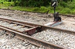 Struktur der Bahnstrecke Lizenzfreie Stockfotos