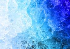 Struktur des Eises Stockfoto