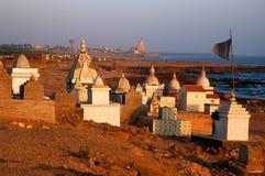 Struktur des hinduistischen Tempels. Lizenzfreie Stockbilder