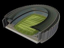 Struktur des Stadions lizenzfreie abbildung