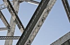 Struktur einer Brücke Lizenzfreies Stockbild