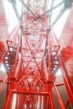 Struktur eines Riesenrads Lizenzfreies Stockbild