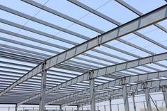 Struktur för stålram Arkivbilder