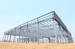 Struktur för stålram Royaltyfria Bilder