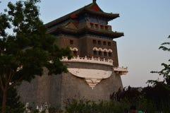 Struktur för traditionell kines i Peking Arkivbild