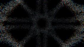 Struktur gemacht vom gelegentlichen Pixel-Schwarm vektor abbildung