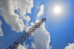 Struktur und Himmel Lizenzfreies Stockfoto