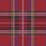 struktura bezszwowa szkockiej kraty ilustracja wektor
