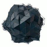Struktura 3d odpłaca się komputerowe grafika CG Krystaliczna ilustracja Jeden od setu Więcej w mój portfolio Fotografia Royalty Free