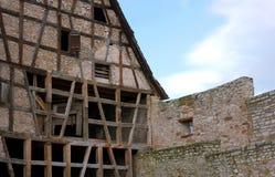 Struktura dom Waiblingen, Niemcy - - VII - Zdjęcia Stock