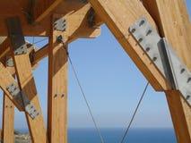 struktura drewniana Obraz Royalty Free