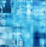 struktura lodowa Obraz Royalty Free