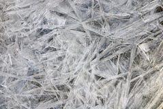 struktura lodowa Obraz Stock