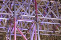 Struktura metal drymby dla ochrony Fotografia Royalty Free