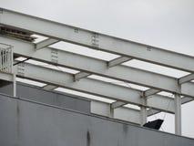 struktura metalicznej Obrazy Royalty Free