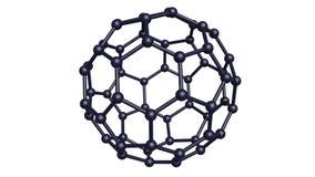 struktura molekularna royalty ilustracja
