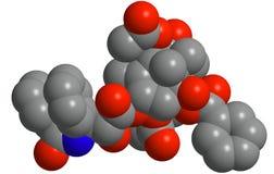 struktura molekularna Zdjęcia Royalty Free