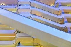 Struktura projekt nowożytny handlowy budynek zdjęcia stock