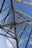 struktura ramowej energii elektrycznej fotografia stock
