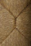 struktura słomy siedzenia Fotografia Stock