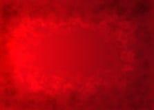 struktura serc czerwone tło Obraz Royalty Free