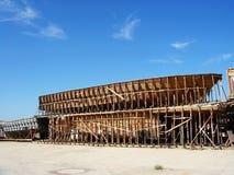 struktura statek s Fotografia Royalty Free