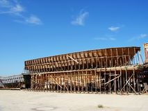 struktura statek s Zdjęcie Royalty Free