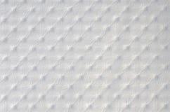 struktura syntetycznego skórzany materialny white Fotografia Royalty Free