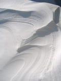 struktura tło śniegu Zdjęcie Royalty Free